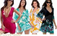 Vestidos de Praia Modelos 2011