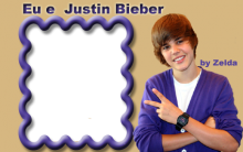 Molduras para Fotos do Cantor Justin Bieber