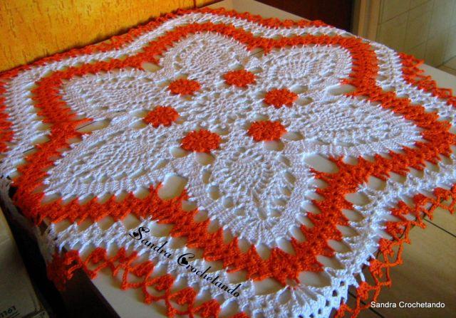 Modelos de Tolhas Feitas de Crochê – Fotos