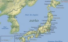 Mapa Territorial do Japão