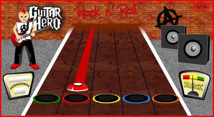 Jogos Online – Guitar Hero