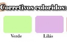 Corretivos Coloridos – Como Usar