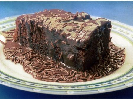 Bolo Molhadinho de Chocolate – Receita
