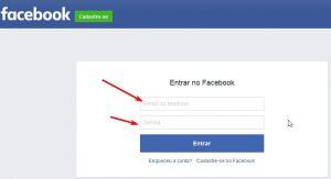 Entrar no Facebook e Fazer Login Facebook