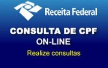 Consultar CPF na Receita Federal – Site