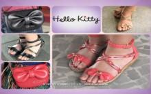 Nova Sandália Hello Kitty Verão 2012- Cores,Modelos,Tendências