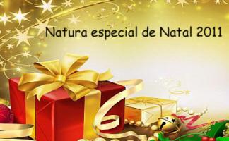 Natura kits Para o Natal 2011- Preços