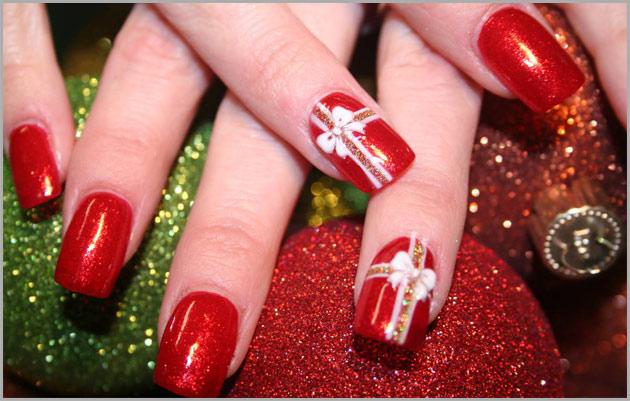 Unhas Decoradas Para o Natal de 2011