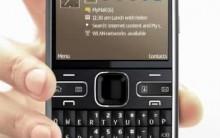 Novo Smartphone Nokia e72 – Preço e Fotos