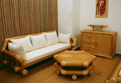 Moda Casa – Modelos de Sofás Feitos de Bambu