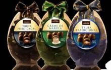 Ovos de Páscoa da Cacau Show  para 2012