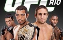 UFC Rio 2012- Ingresso, Programação, Lutadores
