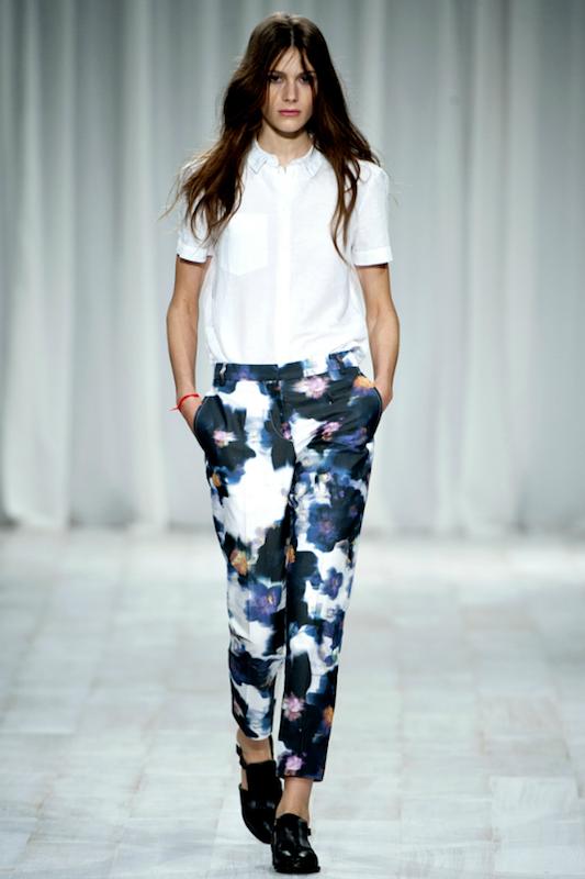 Calças Estampadas Para o Verão 2012 – Modelos