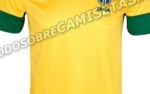 Nova Camiseta da Seleção Brasileira 2012 – Fotos