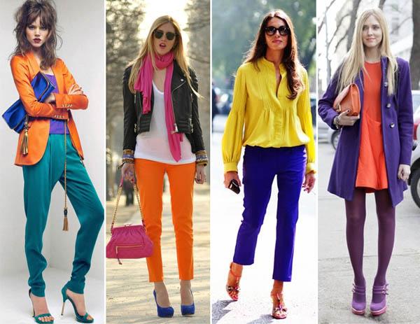 Moda Blocking Color para o Verão