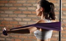 Treino Com Faixas Elásticas Para Tonificar Os Músculos – Fotos, Onde Comprar