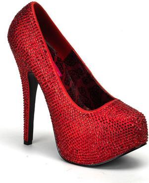 Calçados Vermelhos 2012 – Tendências e Modelos