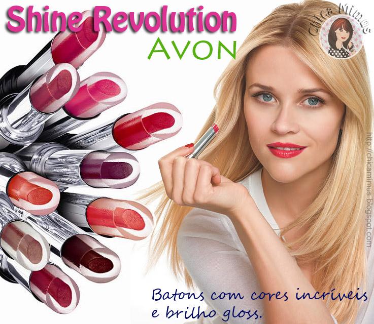 Novos Batons Shine Revolution Avon – Tendências e Cores
