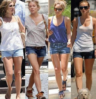 Moda Shorts Jeans Verão 2012 – Modelos