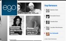Portal de Famosos EGO no Globo.Com – Notícias das Celebridades