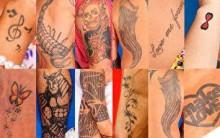Tatuagens dos Participantes do BBB12 – Fotos