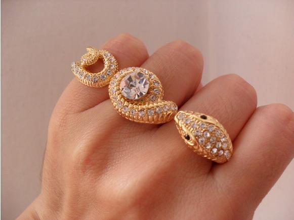 Tendências de Anéis  Duplo e Triplo – Modelos