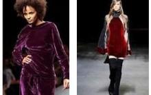 Moda Veludo Inverno 2012 – Modelos