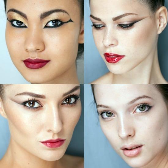 Olhos Egípcio Tendências para 2012 – Modelos