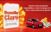 Promoção Desafio Claro 2012 – Como Participar, Prêmios