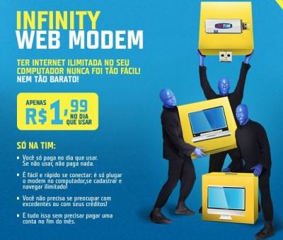 Novo Plano da Tim Infinity Web Modem – Como Funciona, Vantagens, Tarifas