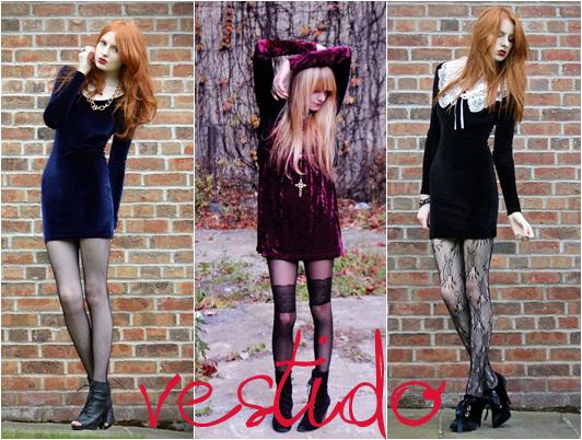 Tendências de Vestidos para o Outono de 2012 – Modelos