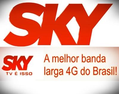 Internet Sky Banda Larga em 4g – Como Funciona, Vantagens, Preços, Pacotes