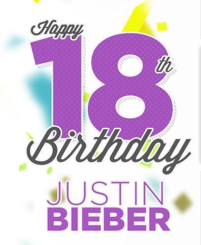 Aniversário – Cantor Justin Bieber Completa 18 anos Hoje 01/03/2012