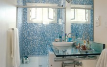 Decoração de Banheiros com Pastilhas – Fotos e Modelos