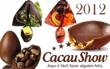 Rede Cacau Show Promoções e Ofertas de Ovos de Páscoa 2012
