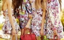 Saias com Estampas Florais Verão 2012- Modelos, Cores, Tendências