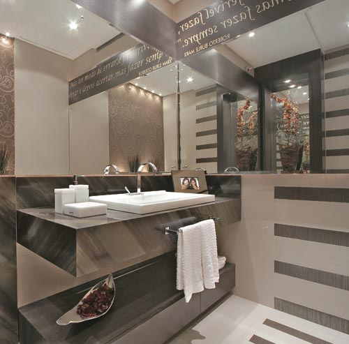 Decoração de Banheiros com Granito – Modelos