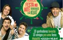 Promoção Festa no Iate Rimando com kuat 2012 – Como Participar, Prêmios, Regulamento