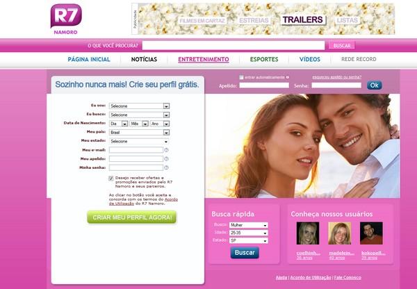 Site de Relacionamentos R7 Namoro Par Perfeito – Como Participar, Site, Como se Inscrever