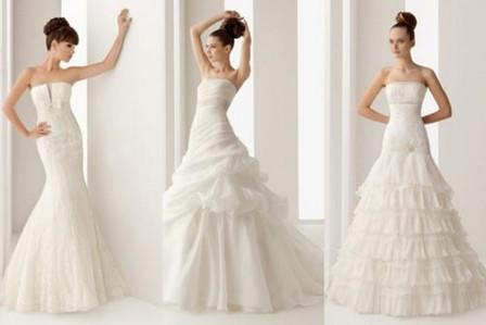 Tendência de Vestidos de  Noivas para 2012 – Vídeo de Desfile