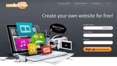 Como Criar um Site de Graça – WebNode