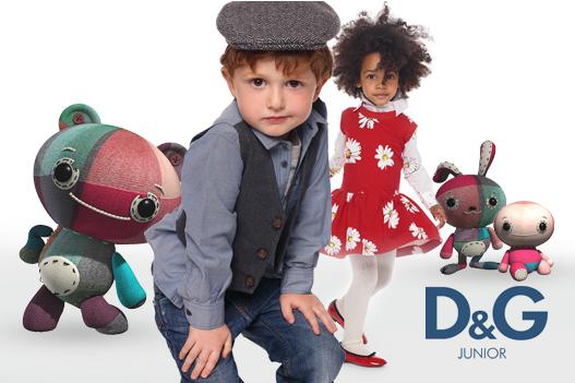 Coleção Dolce & Gabbana Junior Inverno 2012 – Fotos,cores,Tendências