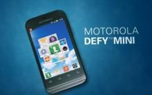 Novo Motorola Defy Mini Dual Chip – Preço, Fotos, Qualidades