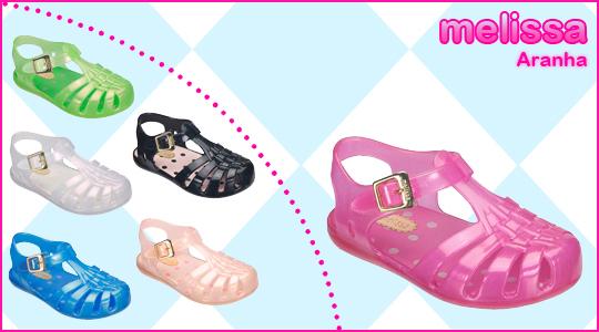Coleção Mini Melissas Infantil 2012- Tendências, Modelos, Fotos