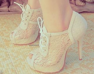 Sapatos de Renda Moda 2012 – Modelos, Tendências
