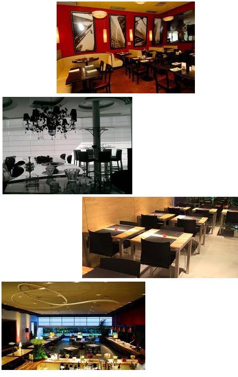 Móveis Planejados Para Restaurantes –  Empresa Bellar, Modelos