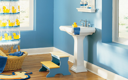Decoração de Banheiro Infantil 2012 – Dicas, Modelos
