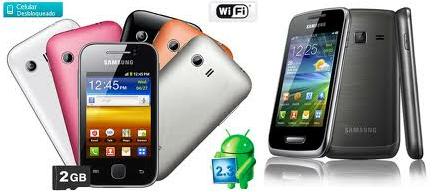Celular Samsung Galaxy YGT-S5360 Desbloqueado – Modelos, Características e Onde Comprar