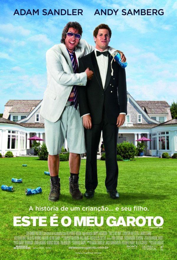 Adam Sandler em Esse É Meu Garoto o Filme – Trailer, sinopse, Data de Lançamento