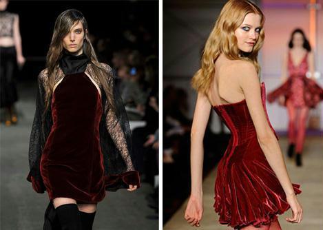 Moda Veludo Outono Inverno 2012 – Tendência, Modelos
